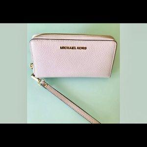 Michael Kors jet set travel clutch phone case